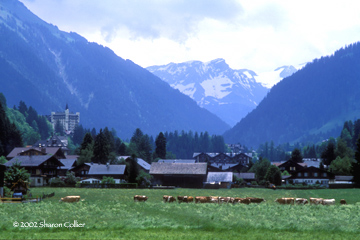 Storm over Gstaad