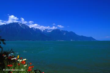 Lake Geneva at Montreaux