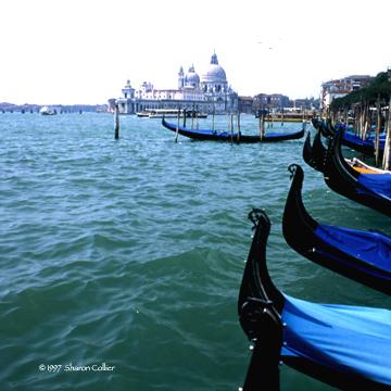 Gondolas of Venezia