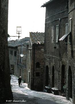 Resident of San Gimignano