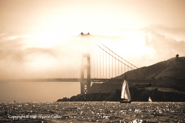Sailing on a Foggy Day