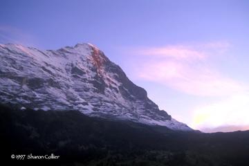 Sunrise at Eiger
