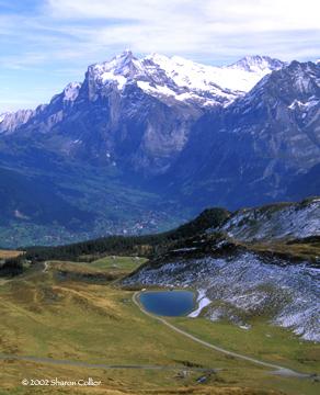 Swiss Mountain Scenery