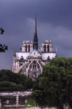 East View of Notre Dame