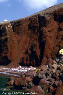 Red Volcanic Beach