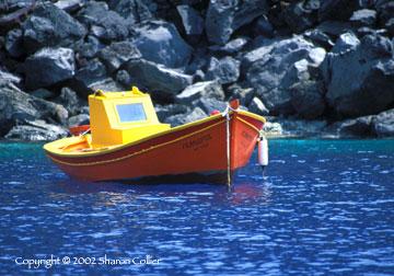 Greek Fishing Boat
