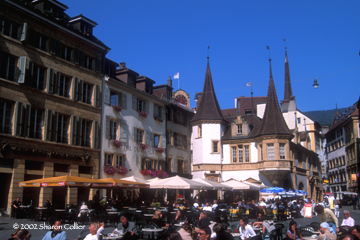 Neuchatel Market Square