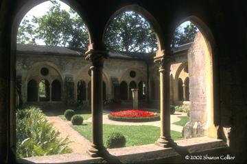 Collegiate Church Courtyard