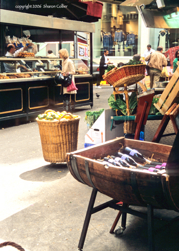 Classic Paris Street Market