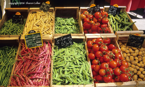 Vegetables and Fruits of Provence