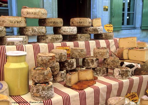 Fromages at Vaison la Romaine