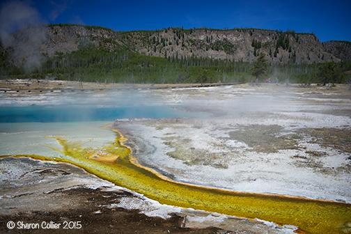 Bisquit Basin at Yellowstone
