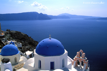 Blue Domes of Oia