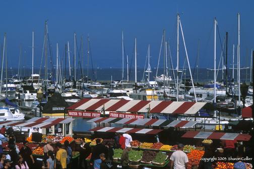 Food Market at Pier 39 San Francisco